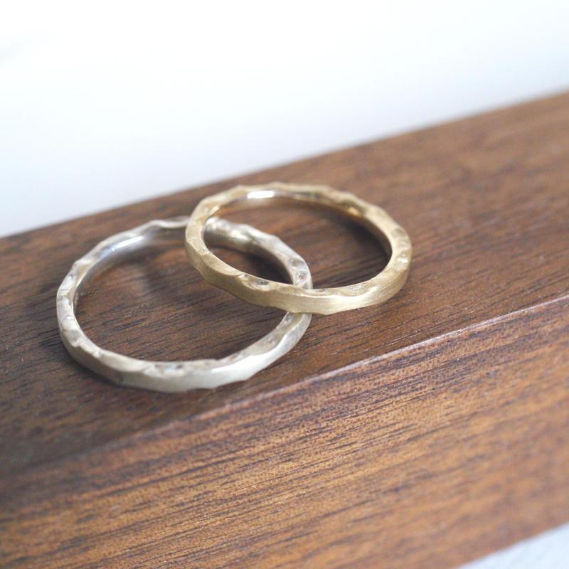 craft line rings 2 - ladies gold