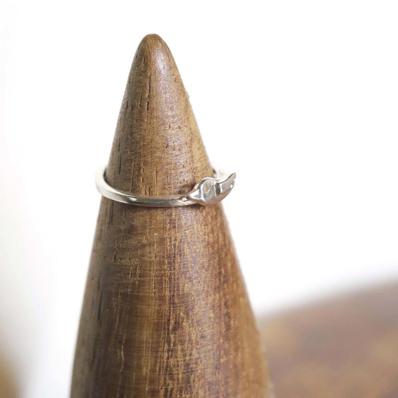 motif ring 2 - silver