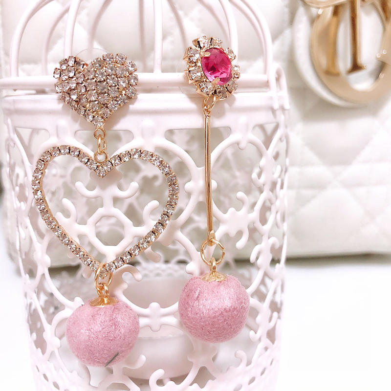 asymmetry pink pierce(No.31005)