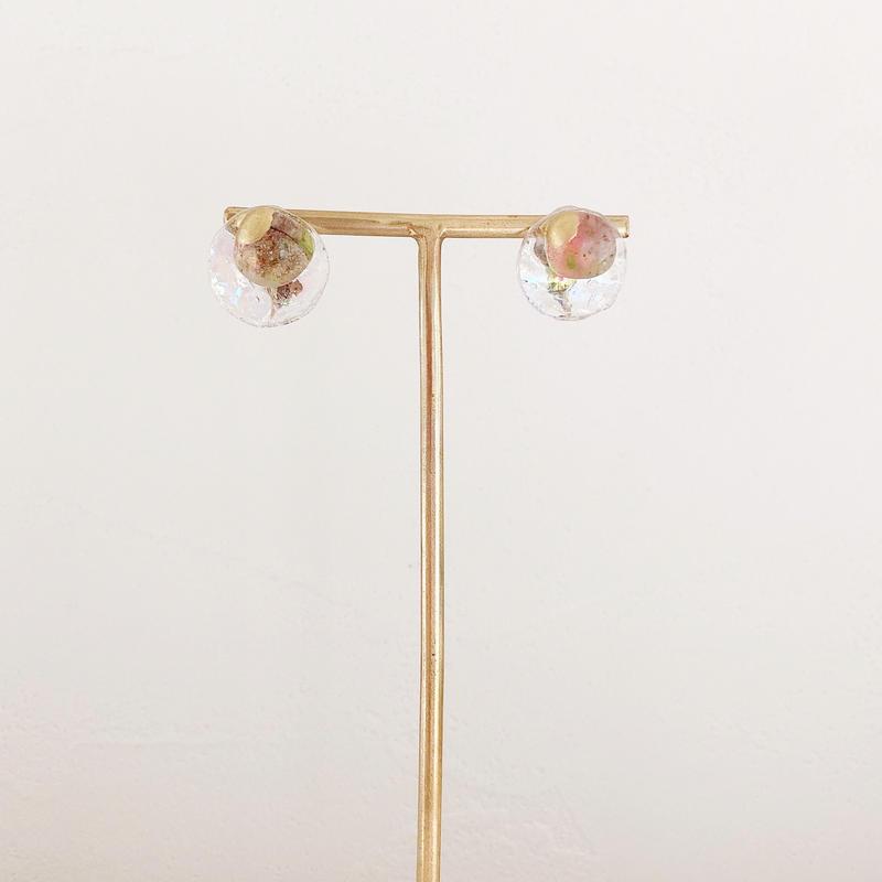 special jewelry/金継ぎ /k14gfピアス/真鍮イヤリング