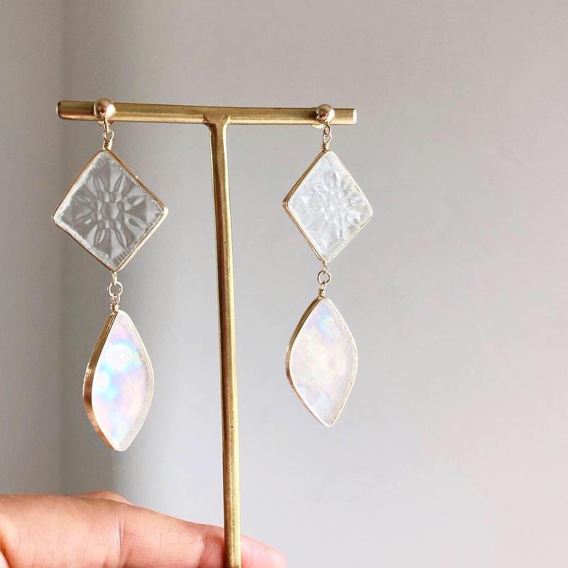 special jewelry double/k14gfピアス/真鍮イヤリング