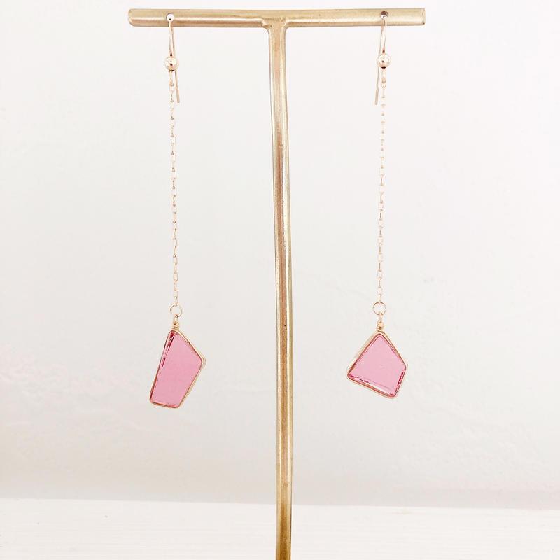 オンライン限定special jewelry/yurari/k14gfピアス/真鍮イヤリング