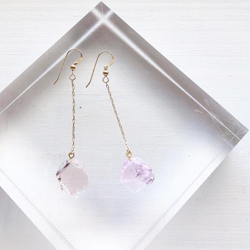 オンライン限定special jewelry/k14gfピアス/真鍮イヤリング