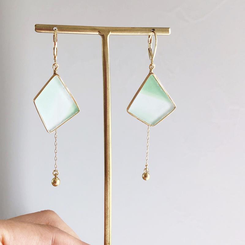 brass jewelry/真鍮ピアス/真鍮イヤリング