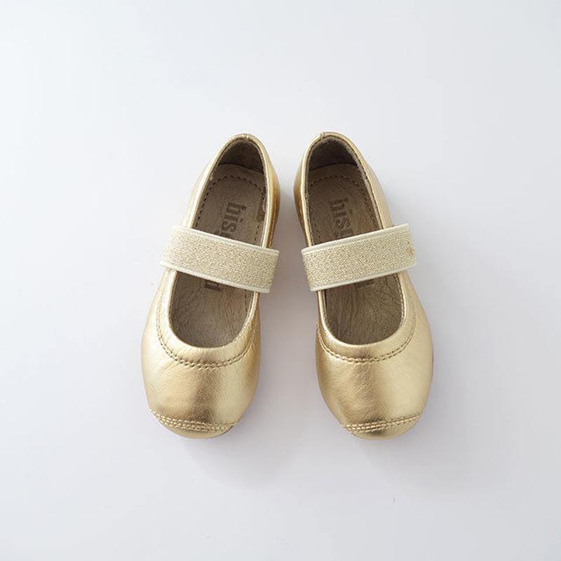 ストラップシューズ GOLD (bisgaard) 12.5cm