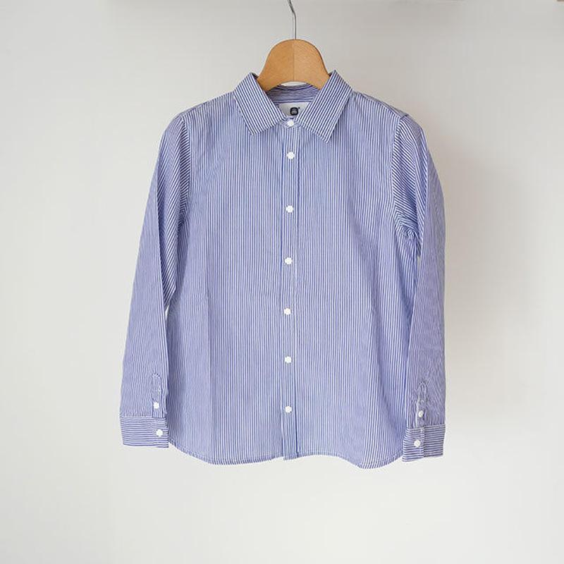 culture shirt STRIPE BLUE (highking) 120、130cm