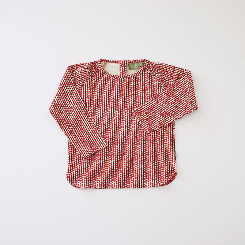 Hazel baby top RED  (kids case) 80、92cm