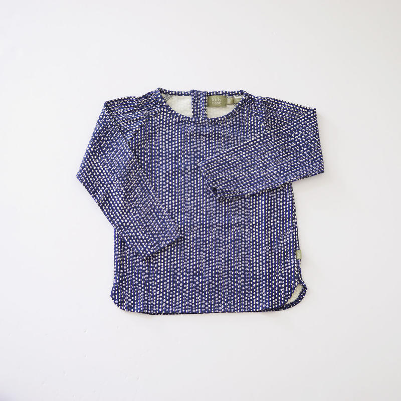 Hazel baby top BLUE  (kids case) 80、92cm