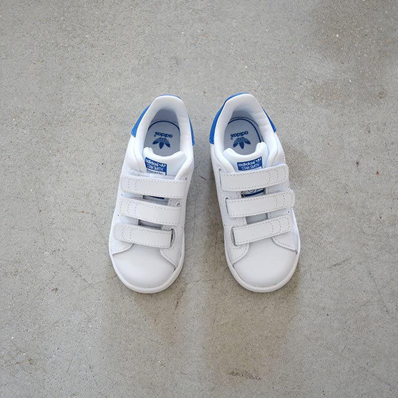 スタンスミス BLUE (adidas) 13~16cm