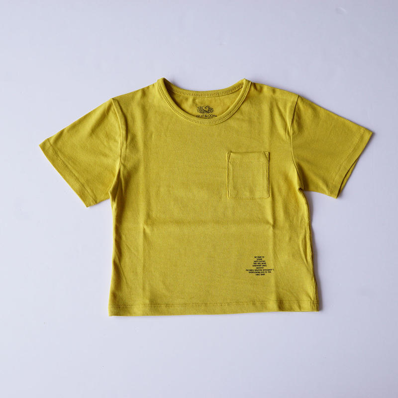 ポケット BIG Tee MUSTARD (SMOOTHY) 95~155cm