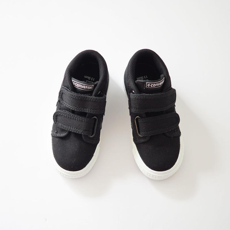 KIDS BOARDSTAR SK  BLACK (CONVERSE) 15~24cm