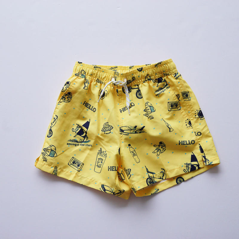 Swim Pants YELLOW  (soft gallery) 4~14Y