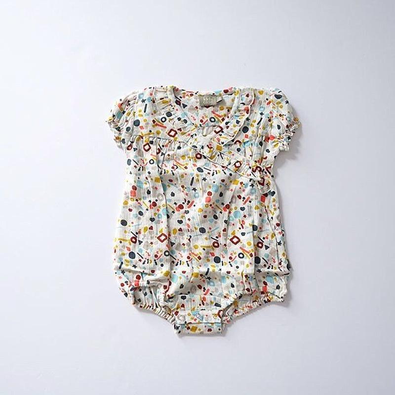 Kate short suit OFF WHITE  (kids case) 80cm
