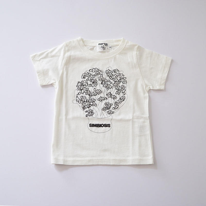 SIMBIOSIS KIDS Tシャツ  (marble SUD) 100~140cm