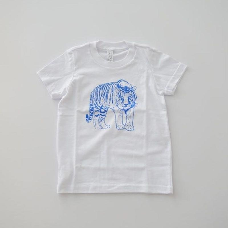 アニマルTシャツ for KIDS WHITE (MAKIE) 2~10Y