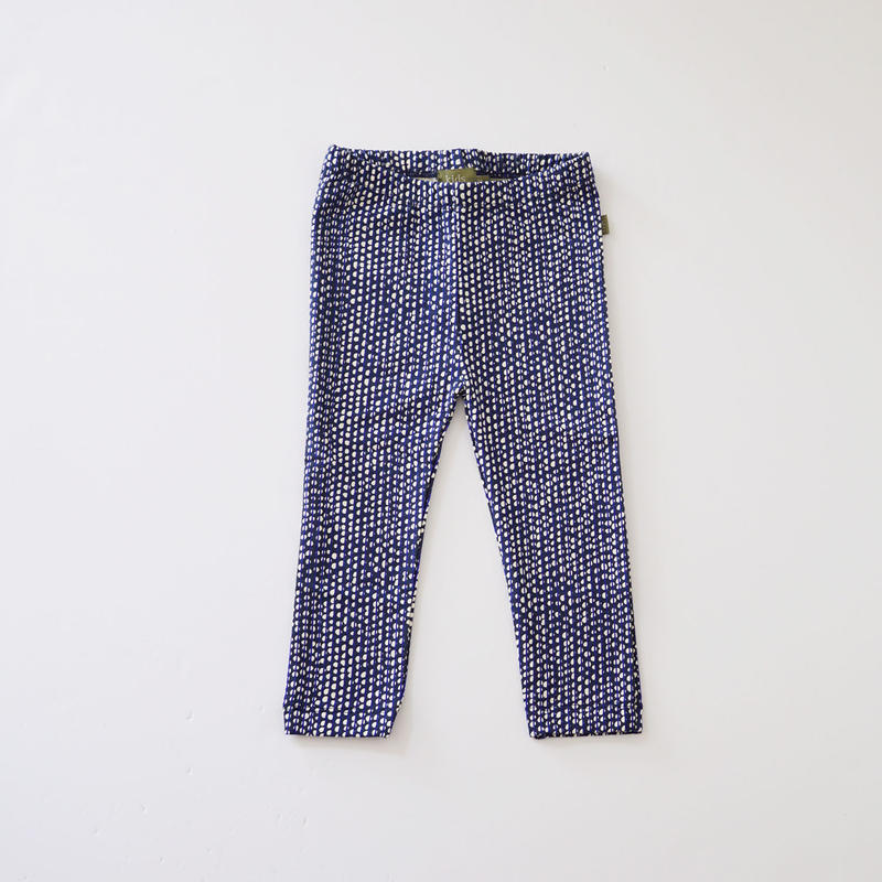 Hazel legging BLUE  (kids case) 80、92cm