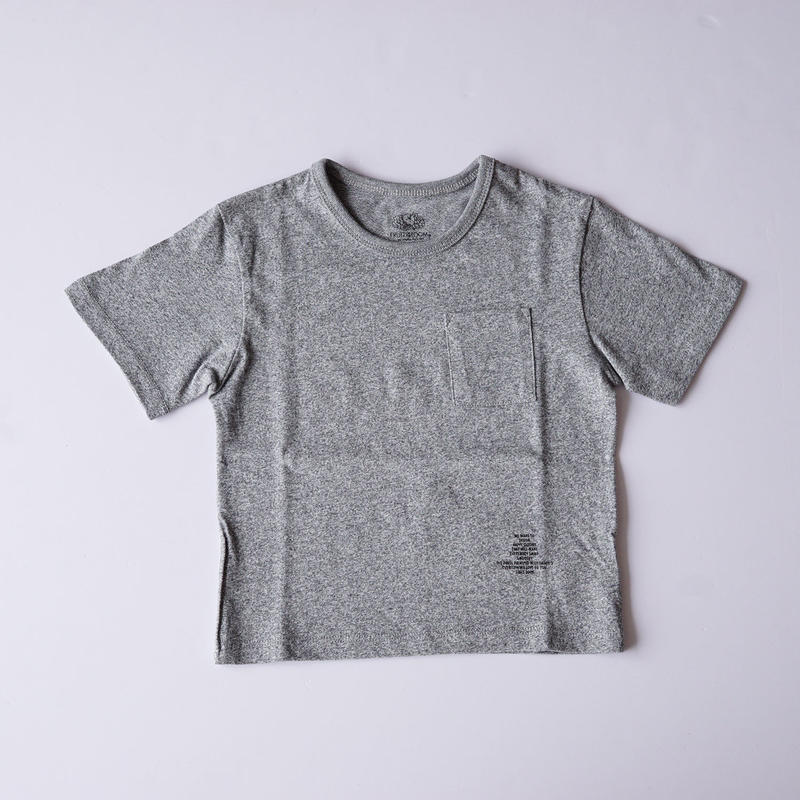 ポケット BIG Tee GRAY (SMOOTHY) 95~155cm