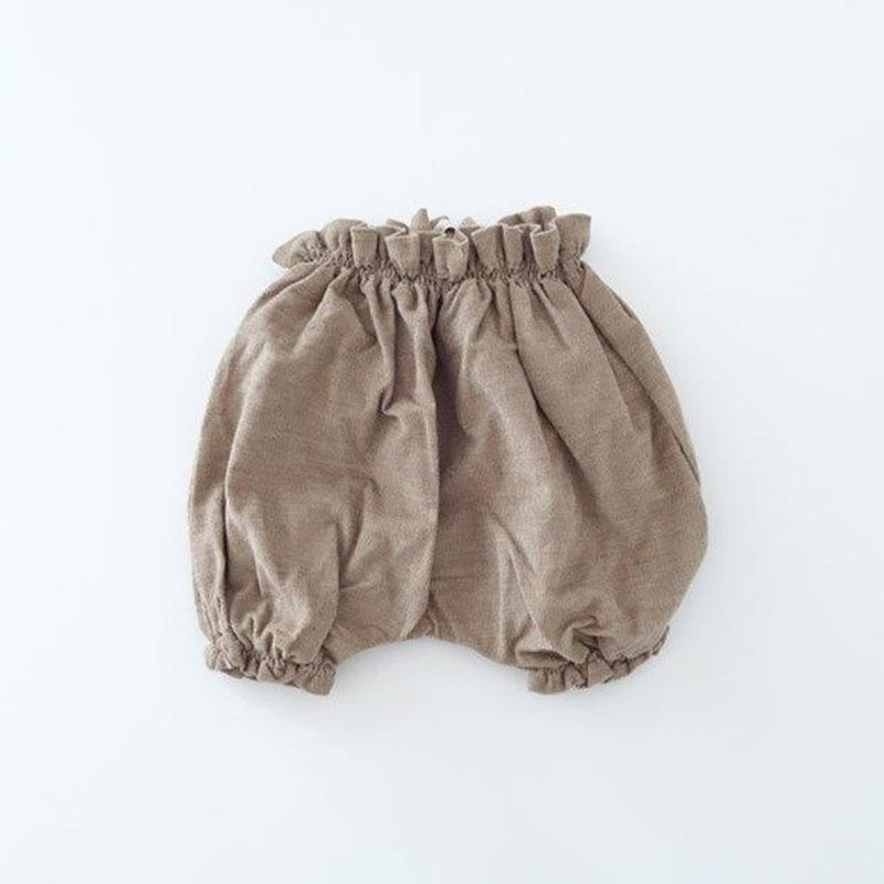 BLOOMERS コーデュロイ  LT.BROWN (MAKIE) 12-18M、2-3Y
