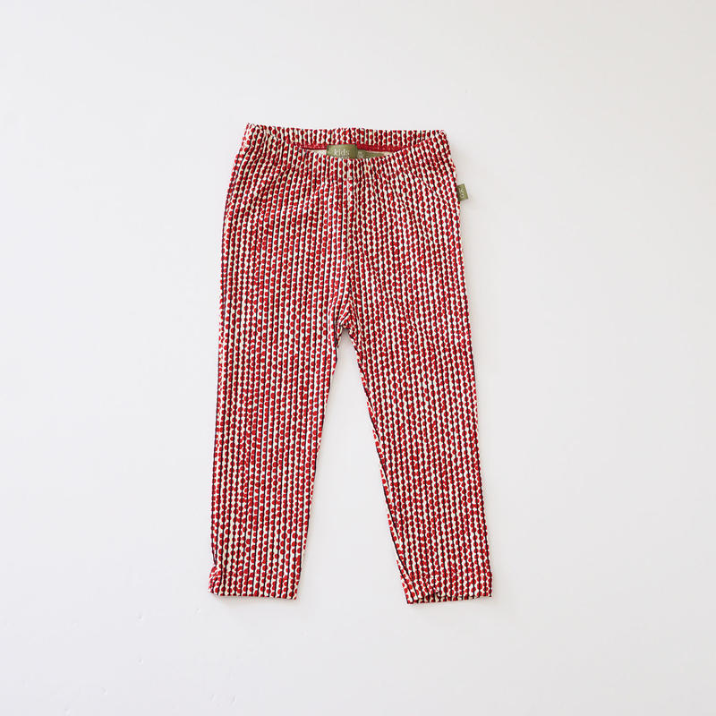 Hazel legging RED  (kids case) 80、92cm