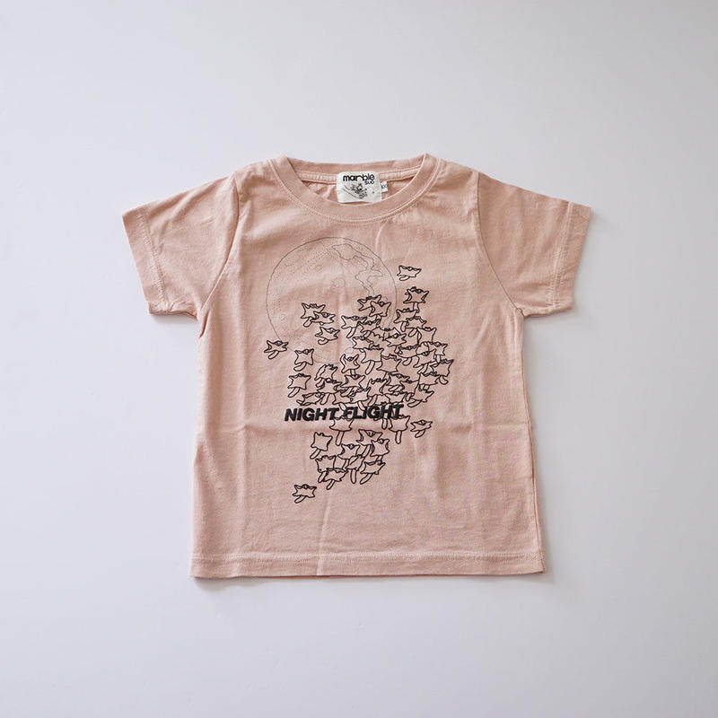 NIGHT FLIGHT KIDS Tシャツ  (marble SUD) 100~140cm
