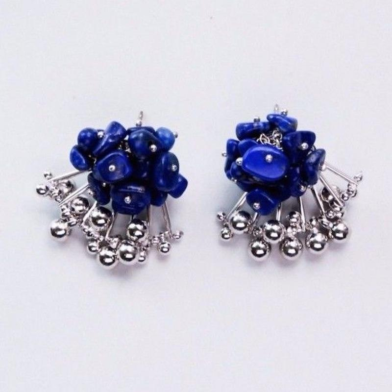 Aria Earrings - LAPIS LAZULI