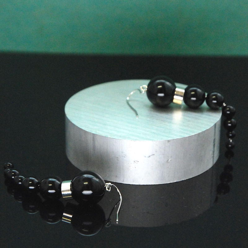 NEW OLYMPIA Earrings - ONYX