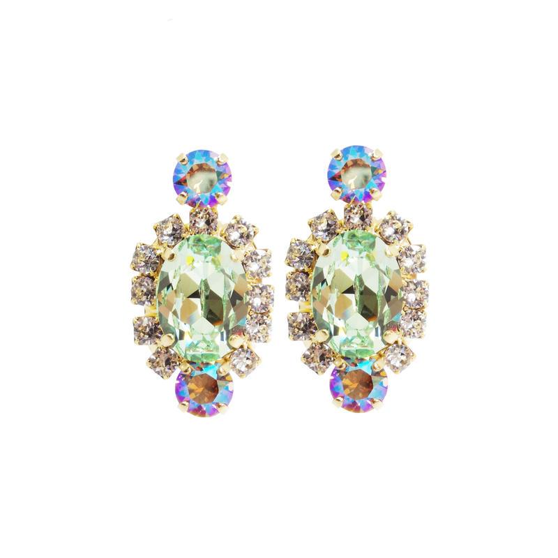 Oval Bijoux Earring