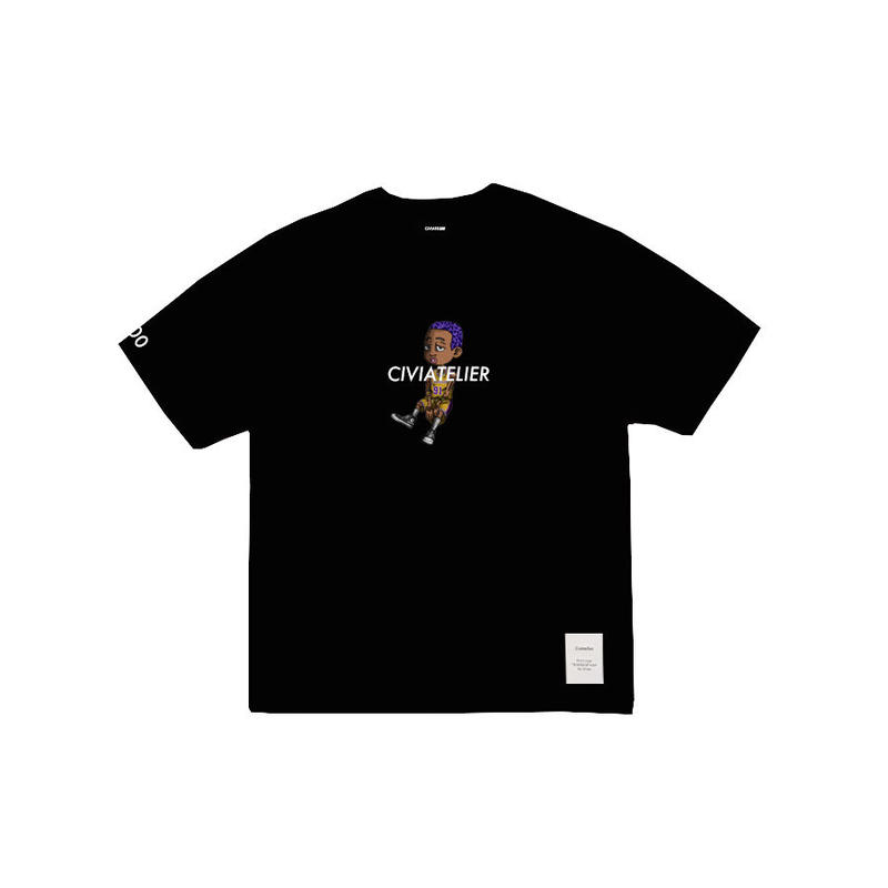 Civiatelier My dogs Second Series Tee (Limited Edition) Lakers Purple Hair Premium color