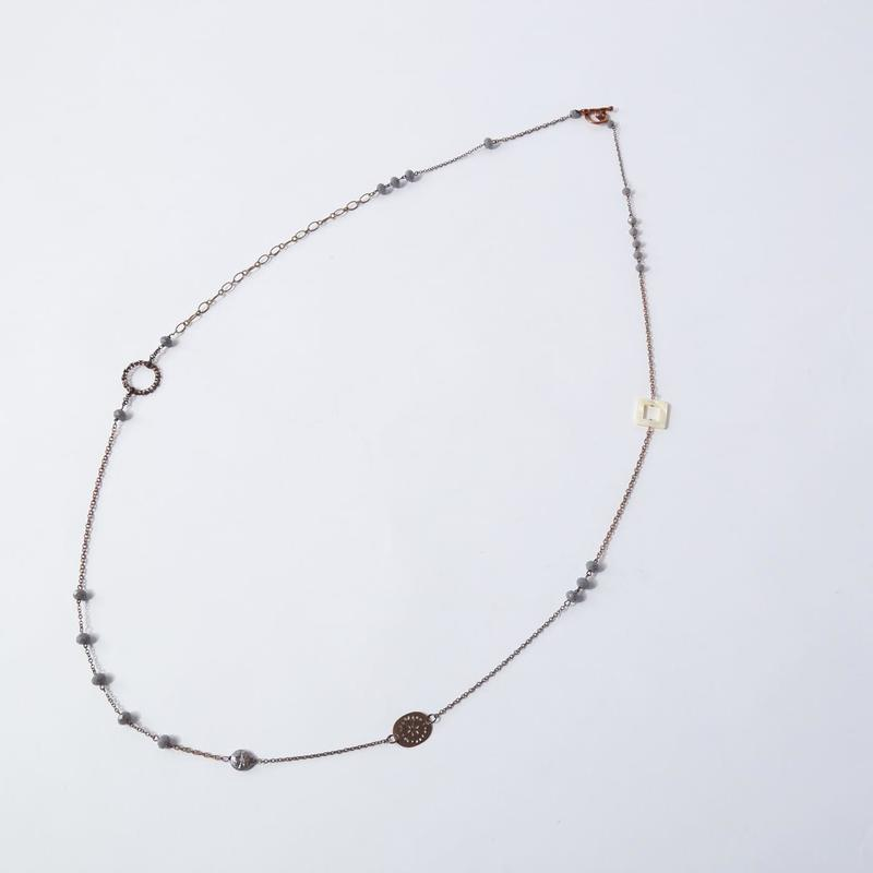 Bijoux ロングネックレス