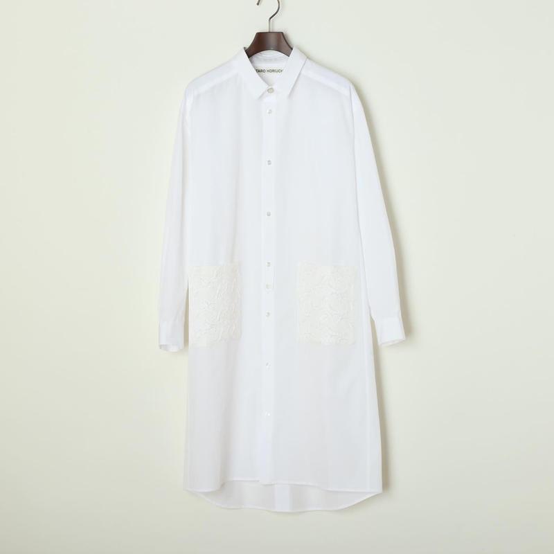 コットン シャツドレス
