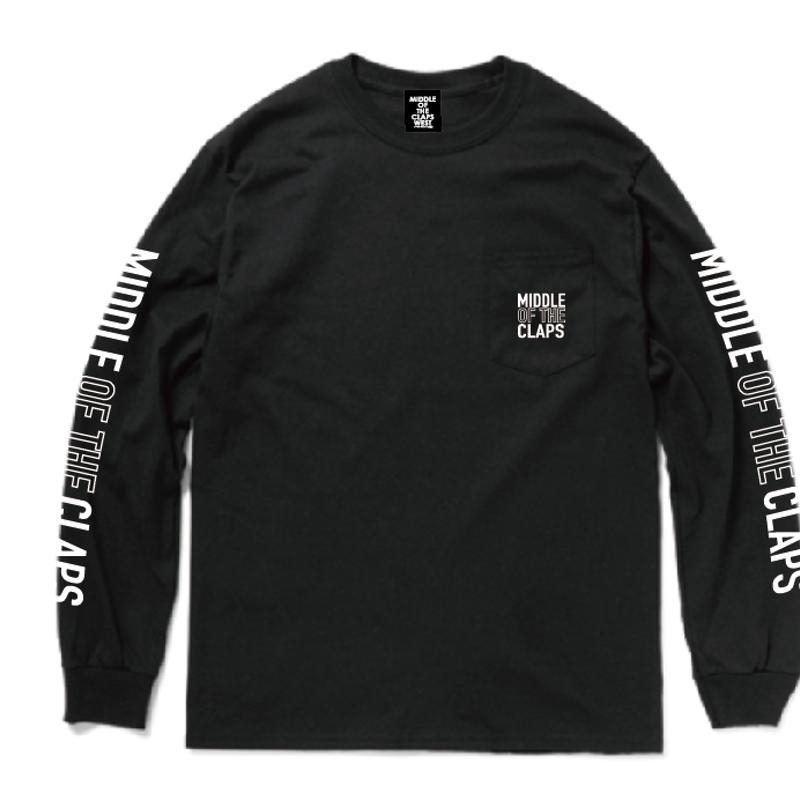 MOC POCKET L/S T-SHIRT (BLACK)