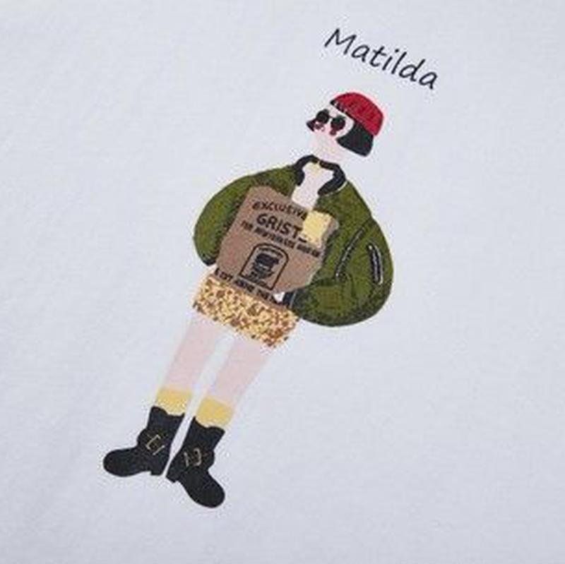 ペインティングイラスト<MATILDA>Tシャツ