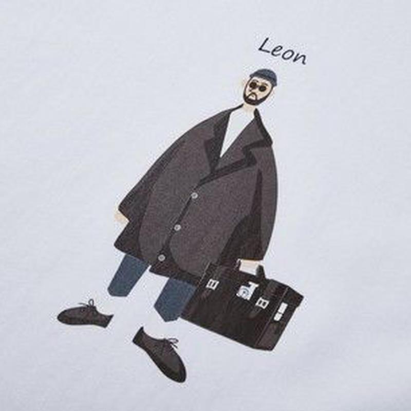 ペインティングイラスト<LEON>Tシャツ