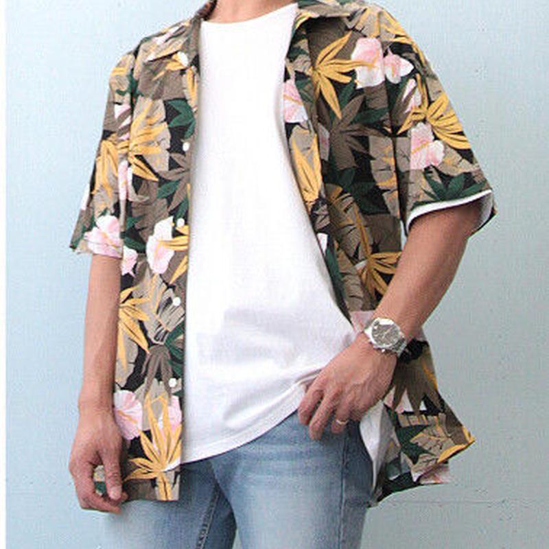 アロハオープンカラーシャツ (ワンサイズ)