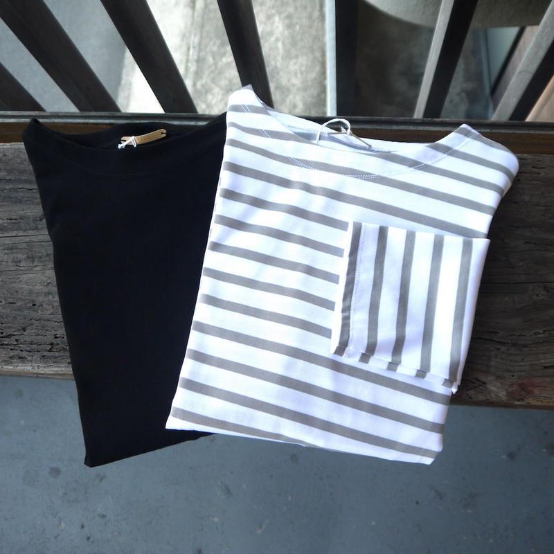 LA MOND ラモンド SUVINGOLD スビンゴールド エレガンスバスクシャツ