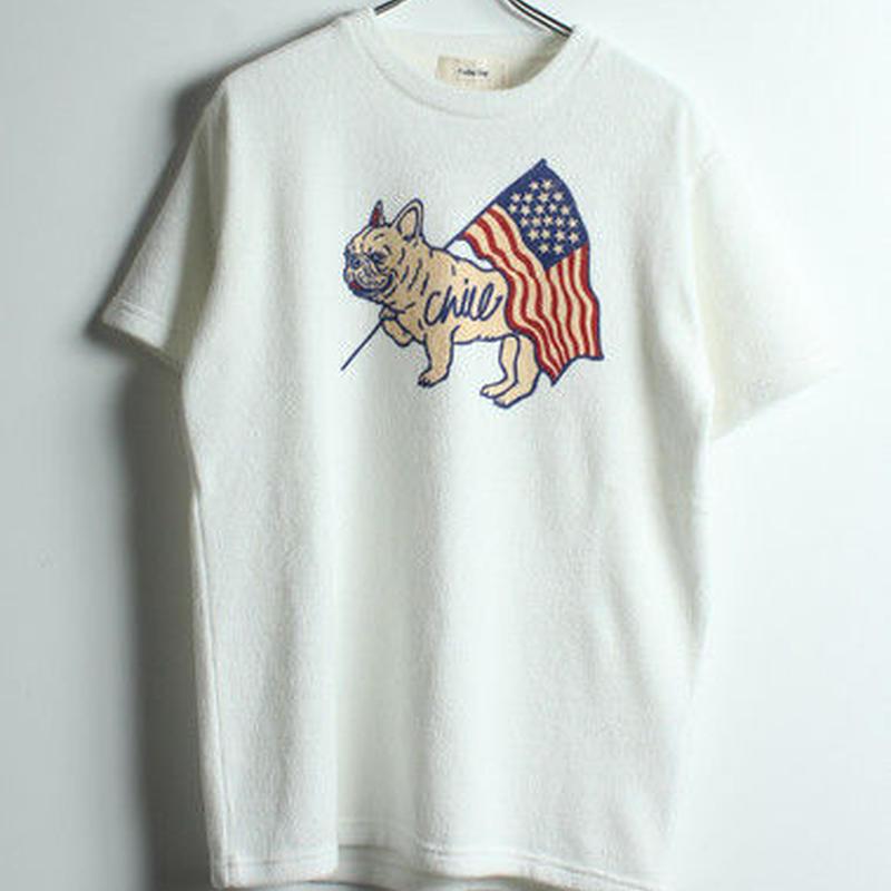 FREBULLパイル半袖Tシャツ