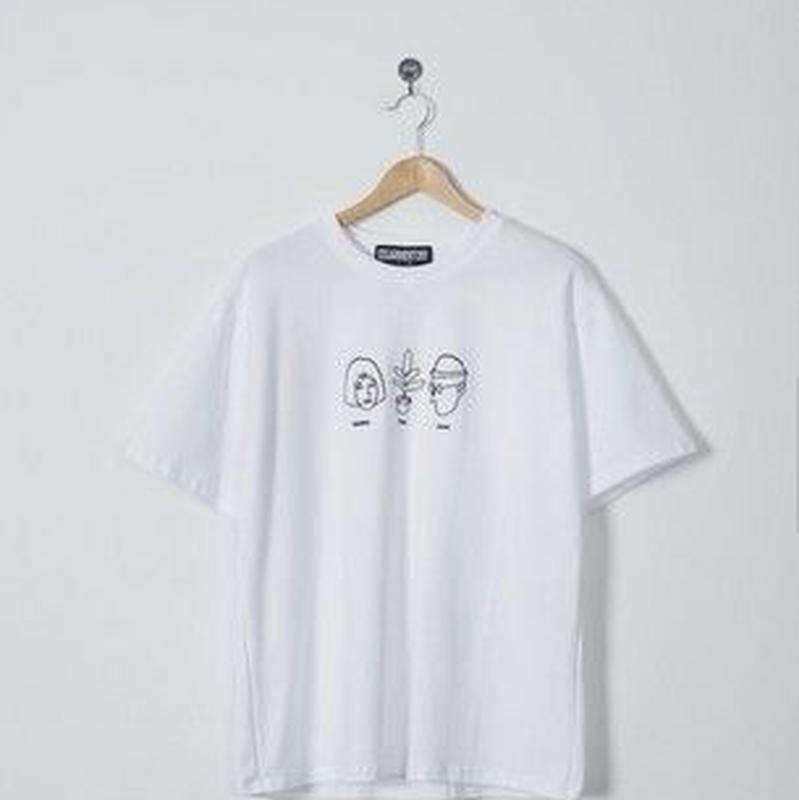 LEON&MATHILDAユニーク刺繍Tシャツ