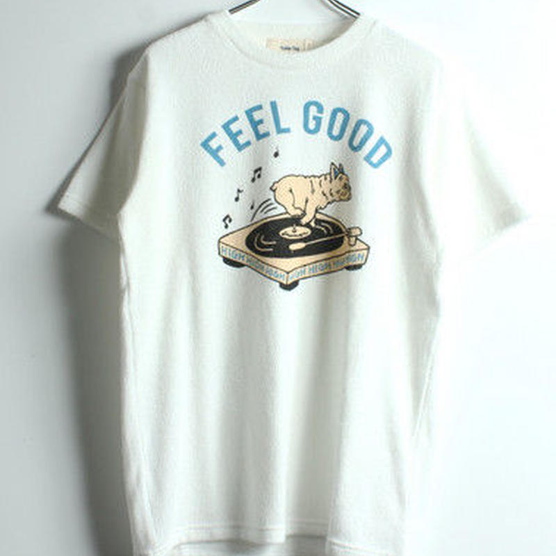 RECORD DOGパイル半袖Tシャツ