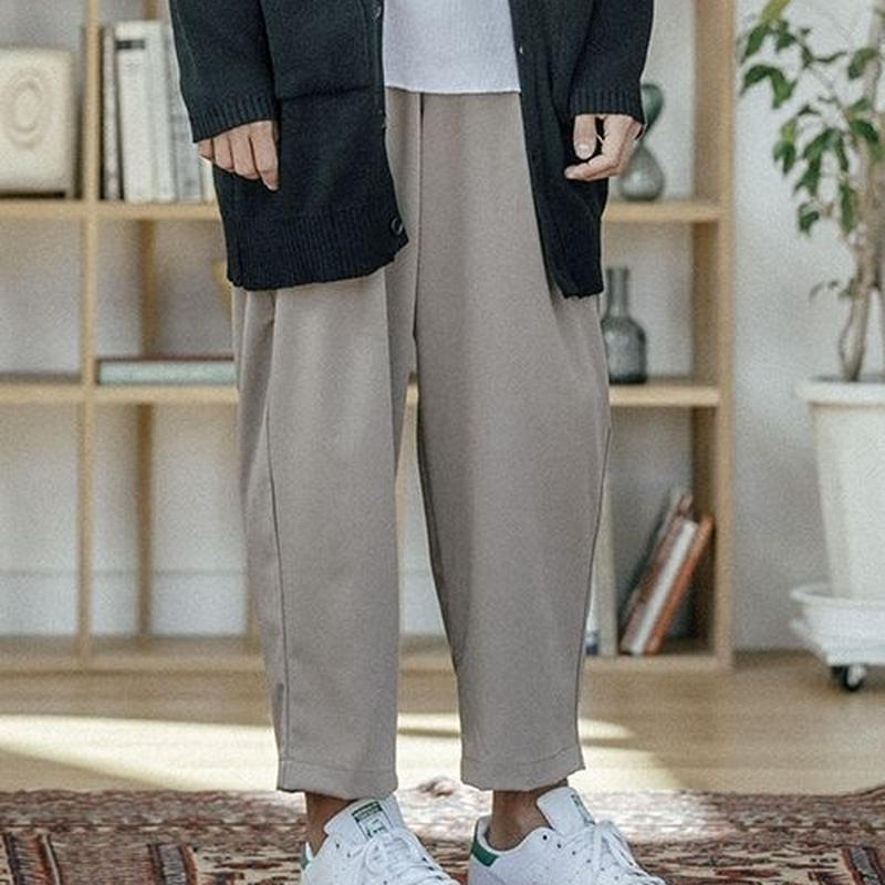【ANGENEHM(アンゲネーム)】Tuck Wide Pants パンツ
