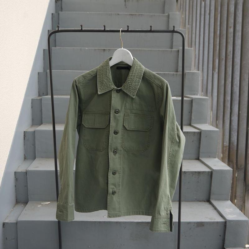 ミリタリーファティーグシャツ 2color
