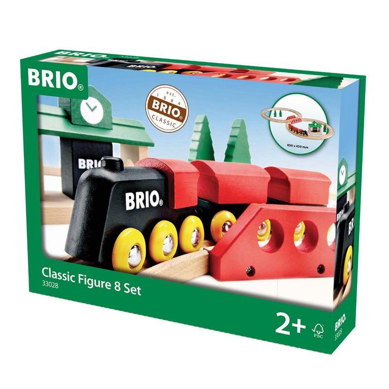 BRIO(ブリオ) クラシックレール8の字セット