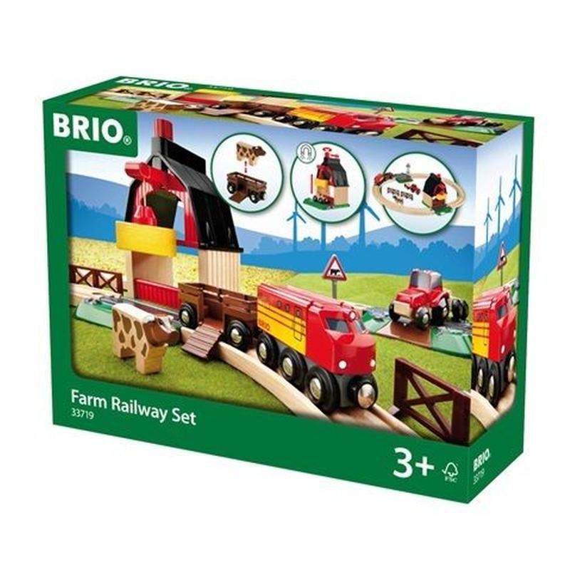 BRIO(ブリオ) ファームレールセット