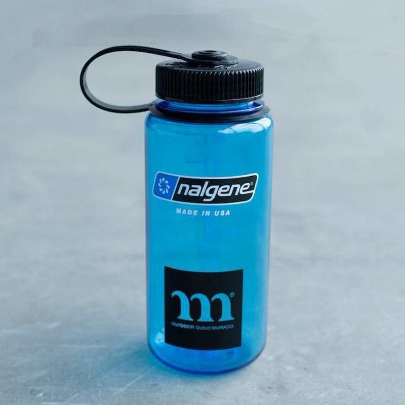 "MURACO(ムラコ) NARGENE  広口0.5L TRITANスレートブルー""M"""