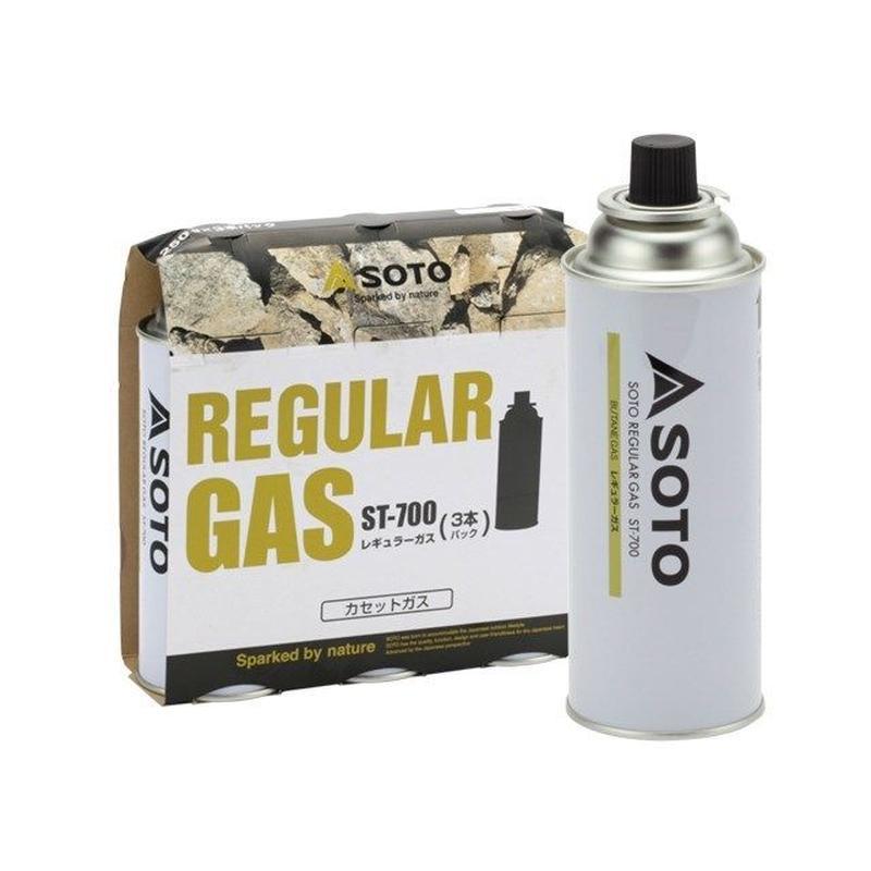SOTO レギュラーガス(3本パック)