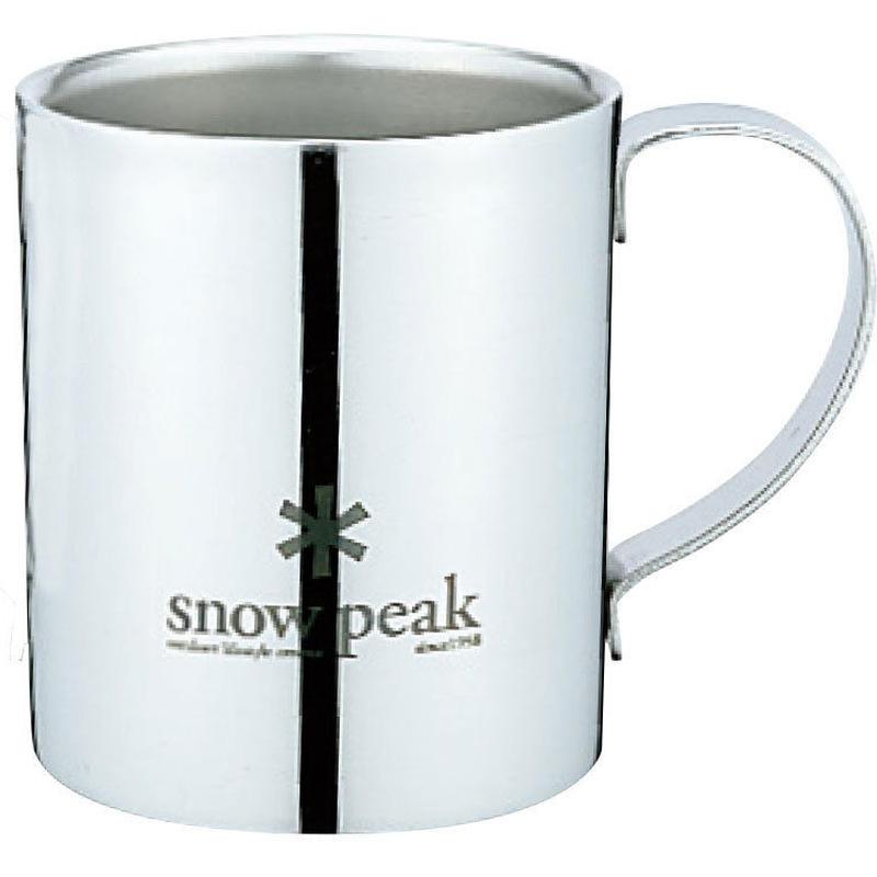 snow peak スノーピークロゴダブルマグ240