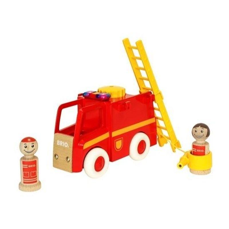 BRIO(ブリオ) ライト&サウンド消防車