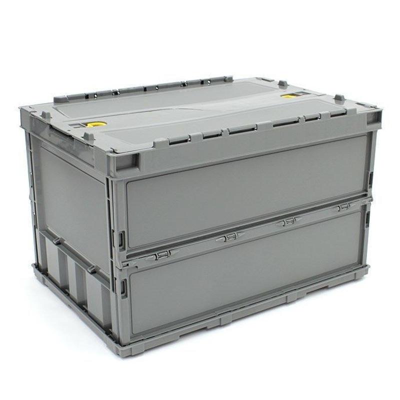 薄型折り畳みコンテナ 50L