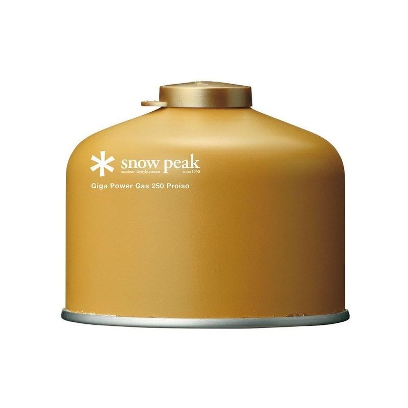 snow peak ギガパワーガス250プロイソ