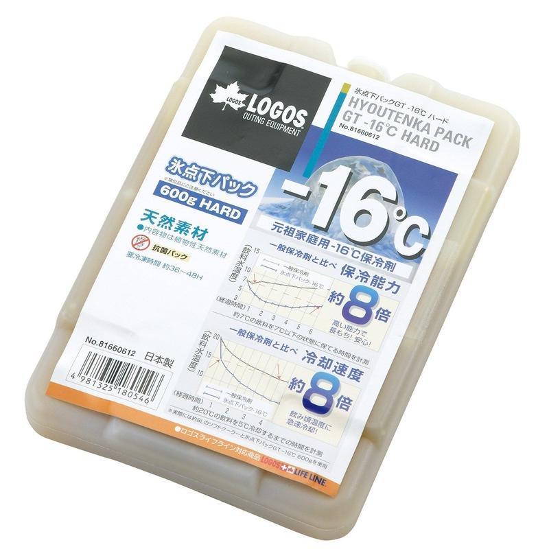LOGOS 氷点下パックGT-16℃・ハード600g