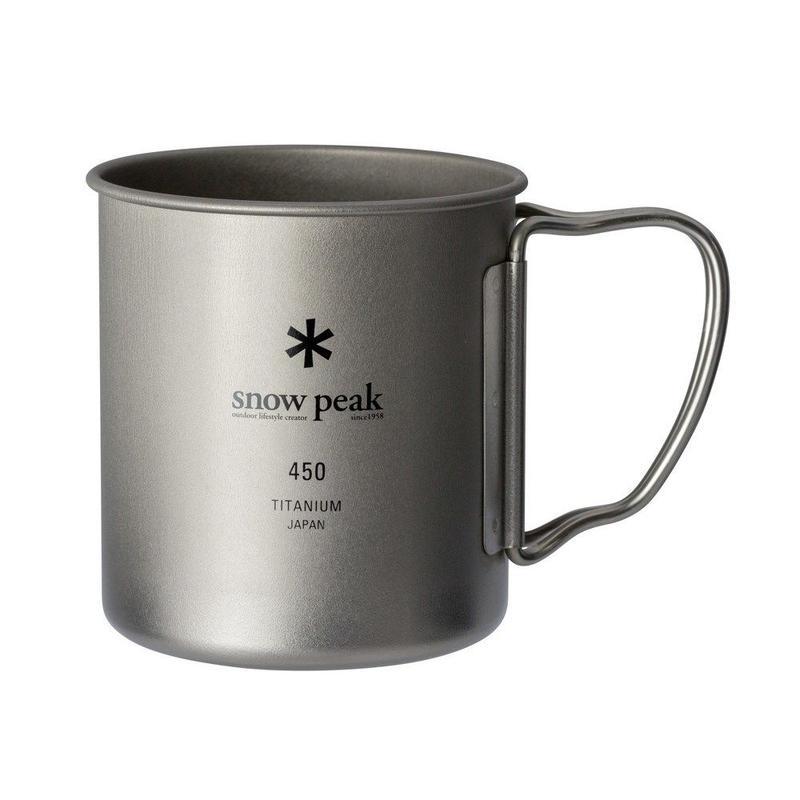 snow peak チタンシングルマグ450